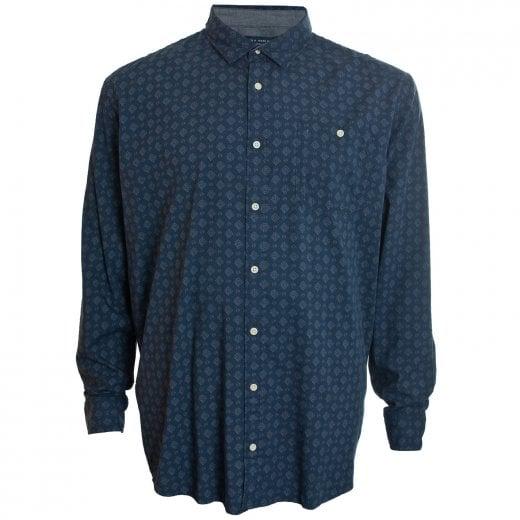 Jack & Jones Plus Size Premium Anton L/S Shirt Navy Blazer