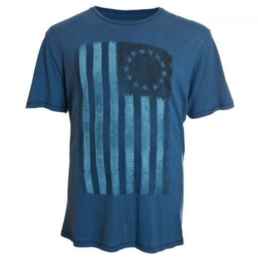 Jack & Jones Plus Size Premium Alfred T-Shirt Navy Brazer