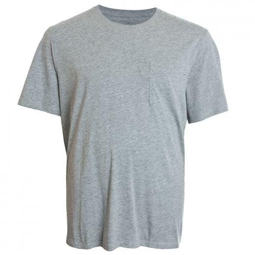 Jack & Jones Plus Size Essentials Pocket T-Shirt Light Grey Melange