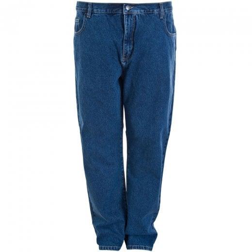 Carabou Kingsize Basic Jeans Stone Wash (40 Waist)