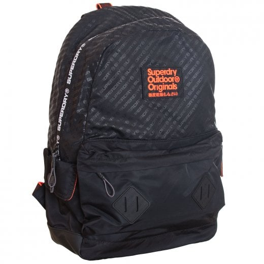 Superdry Hamilton Montana Backpack Black