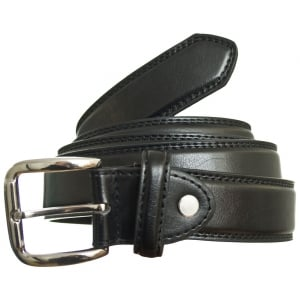 Carabou Kingsize 5026 Leather Belt Black