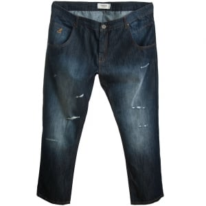 Kangol Big Mens Satana Jeans Dark Wash