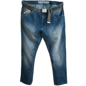 Loyalty & Faith Big Mens Brockville Jeans Stonewash