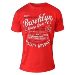 D555 by Duke Kingsize Neal T-Shirt Red