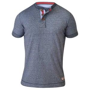 D555 by Duke Kingsize Paul T-Shirt Blue Twist