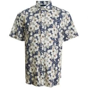 Mish Mash Kingsize 2293 Miami S/S Shirt Floral Blue