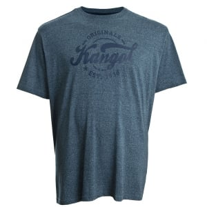 Kangol Kingsize Herst Plus T-Shirt Navy