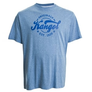 Kangol Kingsize Herst Plus T-Shirt Light Blue
