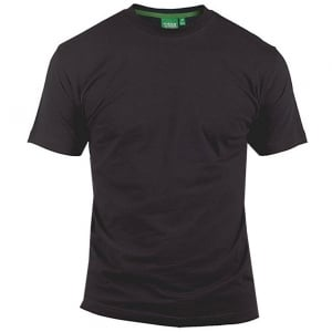 D555 Kingsize Flyers T-Shirt Black