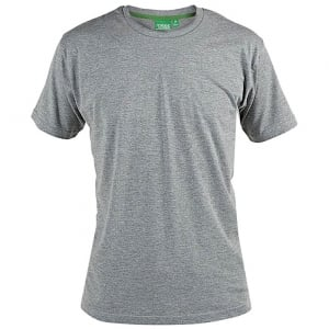 D555 Kingsize Flyers T-Shirt Grey Marl
