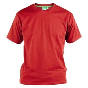 D555 Kingsize Flyers T-Shirt Red