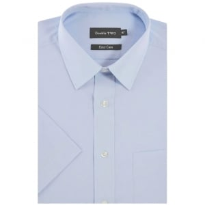 Double Two Kingsize SHX3300 Classic Short Sleeve Shirt Glacier