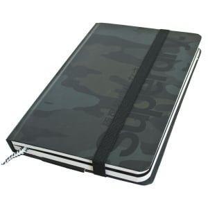 Superdry Editors Notebook Black Camo