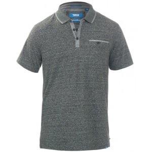 D555 Kingsize Bradford Polo Grey Stripe