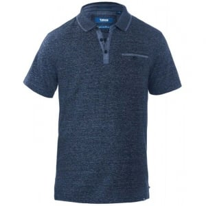 D555 Kingsize Bradford Polo Blue Stripe