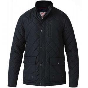 D555 Kingsize Pollard Quilted Jacket Black