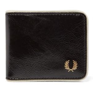 Fred Perry L2234 Classic Bi-Fold Wallet Black