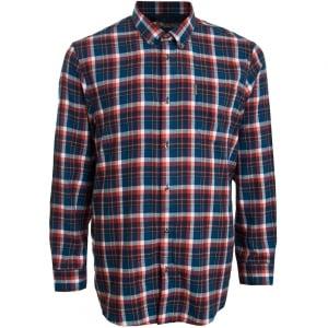 Ben Sherman Kingsize 48559 Check L/S Shirt Wine