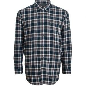 Ben Sherman Kingsize 48559 Check L/S Shirt Smoke