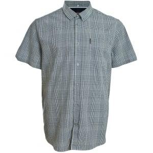 Ben Sherman Kingsize 48543 Check S/S Shirt Dark Navy