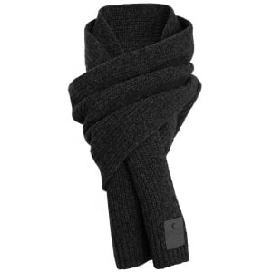 Superdry Surplus Goods Downtown Scarf Black/Charcoal Twist