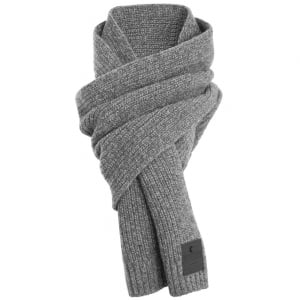 Superdry Surplus Goods Downtown Scarf Silver Twist