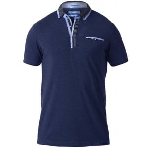 D555 Kingsize Jagger Stretch Polo Navy
