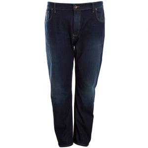 Mish Mash Kingsize 1987 Lot XX Stretch Jeans Dark Blue