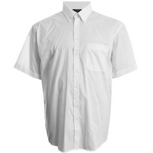 Espionage Kingsize SH149 Button Down S/S Shirt White