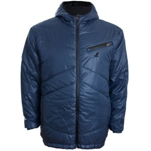 Kangol Kingsize Stoney Hooded Jacket Blue