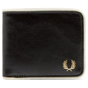 Fred Perry L3335 Classic Billfold Wallet Black