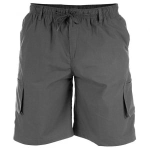 D555 Kingsize Nick Cargo Shorts Dark Grey