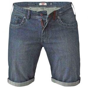 D555 Kingsize Arix Stretch Denim Shorts Vintage