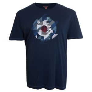 Ben Sherman Kingsize Target T-Shirt Dark Navy