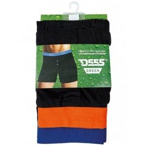 D555 Kingsize Ranger Boxer Shorts 2-Pack Black