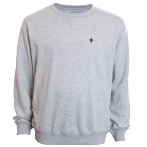 French Connection Kingsize 57JHP Crew Sweatshirt Light Grey Melange