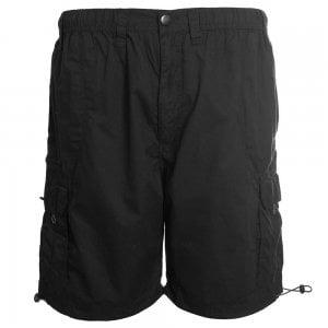 Espionage Kingsize ST042 Cargo Shorts Black