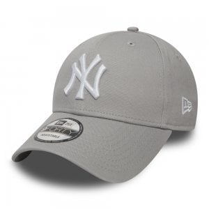 New Era NY Yankees Essential 9Forty Cap Grey/White