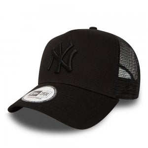 New Era NY Yankees Trucker Cap Black/Black