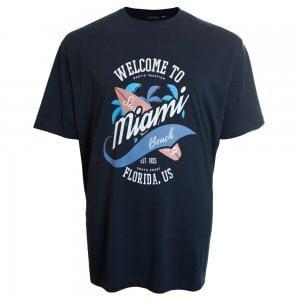 Espionage Kingsize T256 Miami T-Shirt Navy