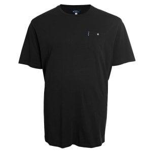 Ben Sherman Kingsize 48504 Basic Pocket T-Shirt Black