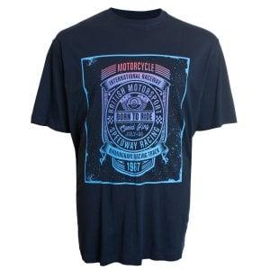 Espionage Kingsize T263 Birmingham Raceway T-Shirt Navy