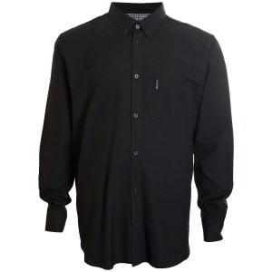 Ben Sherman Kingzize 48578 Oxford L/S Shirt Black