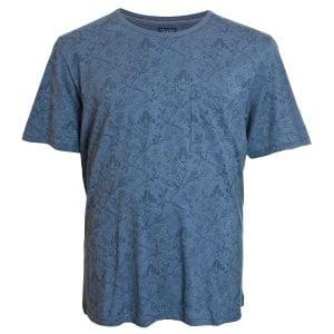 Jack & Jones Plus Size Premium Terry T-Shirt Vintage Indigo