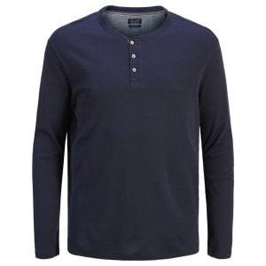 Jack & Jones Plus Size Henry L/S Top Navy Blazer