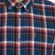 Ben Sherman Kingsize 48559 Check L/S Shirt Wine