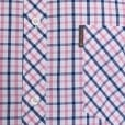 Ben Sherman Kingsize House Check S/S Shirt Sea Pink