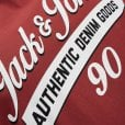 Jack & Jones Plus Size Essentials Logo T-Shirt Brick Red
