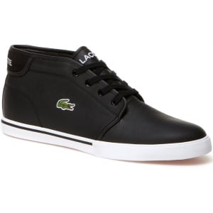 Lacoste Ampthill Leather Sneakers Black